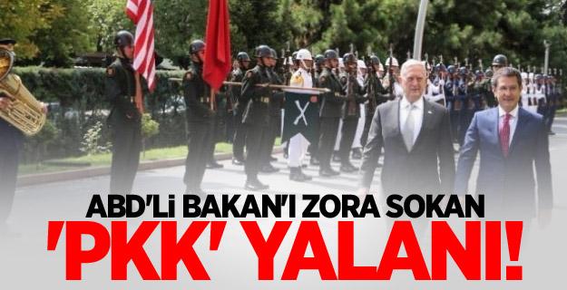 'PKK' Yalanı! ABD'li Bakan'ı Zora Soktu