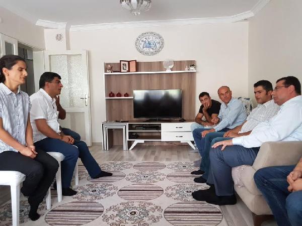 MHP'li Tanrıkulu'dan Alperen'in Ailesine Ziyaret
