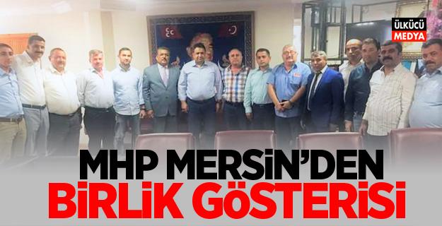 MHP MERSİN'DEN BİRLİK GÖSTERİSİ