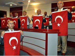 KTO Meclisi'nden teröre bayraklı tepki
