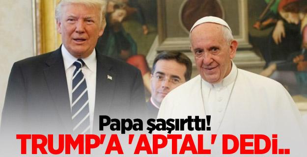 Trump'a 'aptal' dedi...