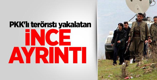 PKK'lı teröristi, 42 numara ayakkabı yakalatmış!