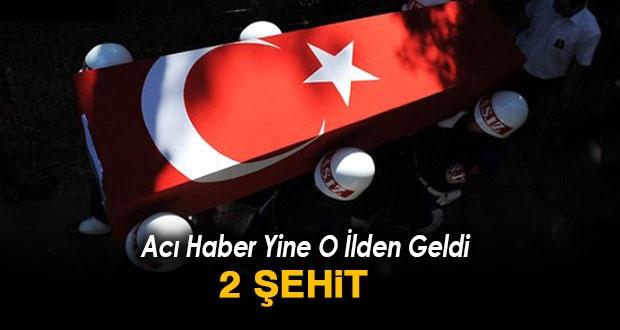 ŞEMDİNLİ'DE ASKERİ ARACA HAİN PUSU : 2 ŞEHİT 3 YARALI !