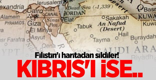 Mısır Filistin'i haritadan sildi!..