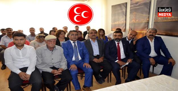 MHP Akçadağ ilçe kongresi yapıldı