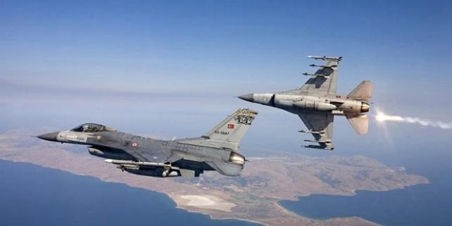 TSK Sınır Ötesine Hava Harekatı Düzenledi