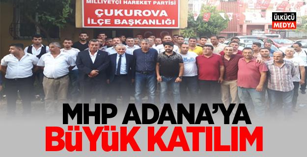 MHP Adana'ya Büyük Katılım