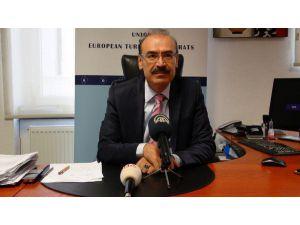Başbakan Davutoğlu'nun Düsseldorf Mitingi İçin Hazırlıklar Tamam