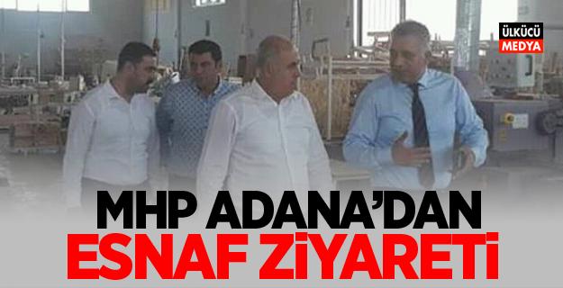 MHP Adana'dan Esnaf Ziyareti