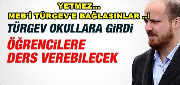 Bilal Erdoğan sınıfa kadar girdi..!
