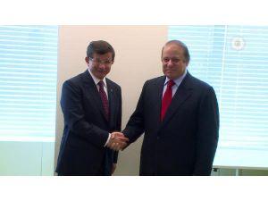 Davutoğlu Pakistan Ve Norveç Başbakanları İle Görüştü