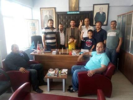 Ülkücü İşçiler Marmara Bölgeden Önemli Ziyaret
