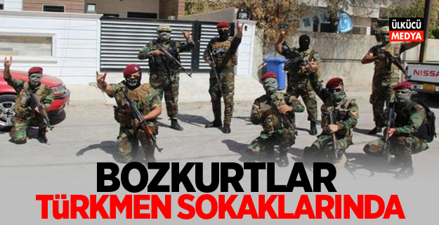 Bozkurtlar Türkmen sokaklarında