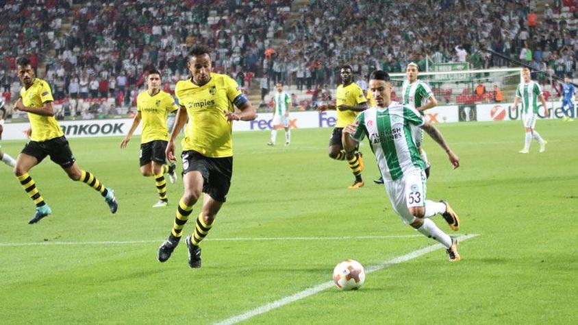 Atiker Konyaspor - Vitoria Guimaraes Maçı özeti
