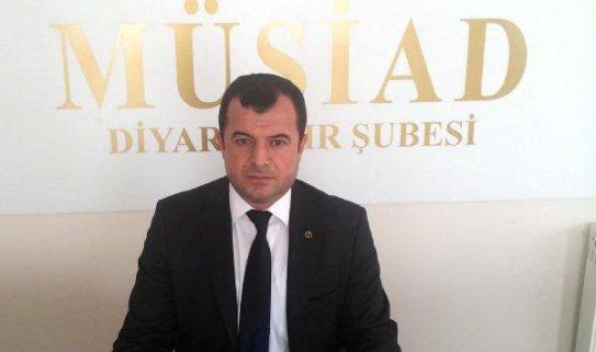 MÜSİAD Diyarbakır Şube Başkanı Şanlı'ya Silahlı Saldırı