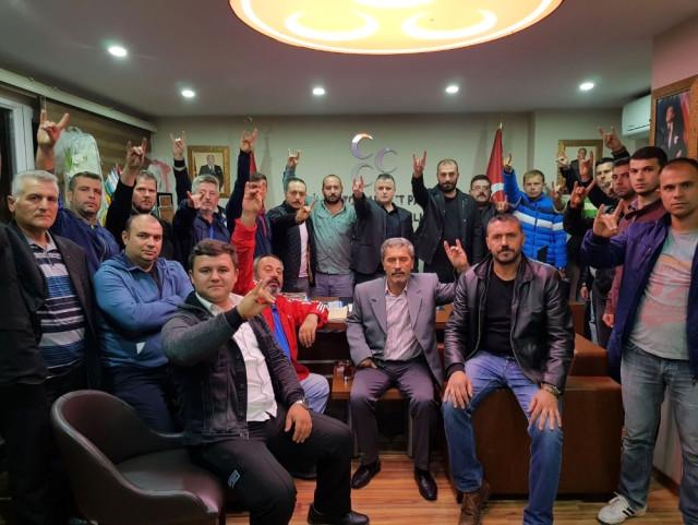 """MHP Edirne: """"500 Bin Ülkücü Olarak Kerkük'e Gitmeye Söz Veriyoruz"""""""
