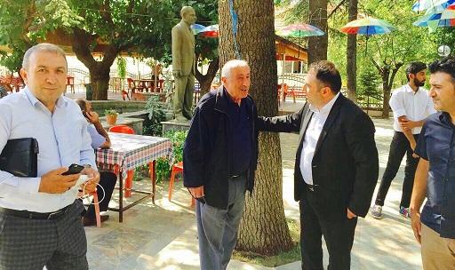 MHP Antalya İl Yönetimi İlçelere Çıkarma Yaptı