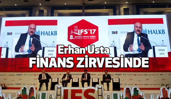 MHP Grup Başkanvekili Erhan Usta, İstanbul Finans Zirvesinde Konuştu