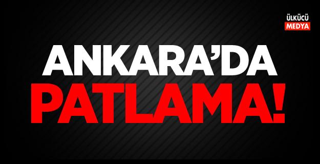 Ankara Ostim'de patlama
