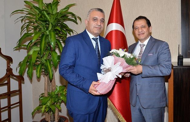 Başkan Sertan Duran'dan Yıldız ve Çınar'a ziyaret