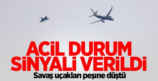 Savaş uçağı havalandı