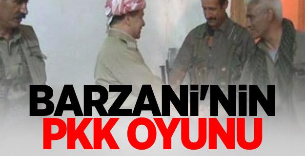 Barzani'nin PKK oyunu