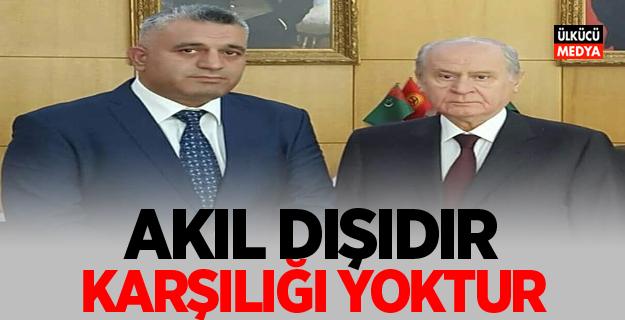 """MHP İl Başkan Sertan Duran """"Akıl dışıdır ve  karşılığı yoktur"""""""