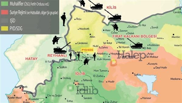 Karadan İdlib'e havadan Afrin'e! Sadece Bordo Bereliler anlayabilecek