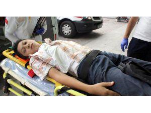 Salıncaktan Düşen Çocuk Yaralandı