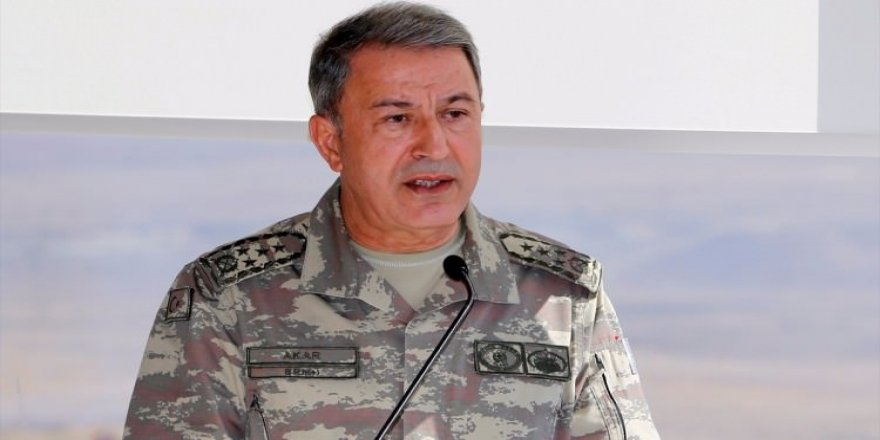 Hulusi Akar'dan kritik 'Kuzey Irak' açıklaması!