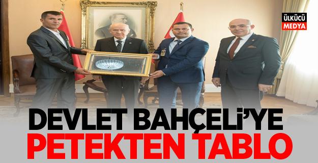 "Devlet Bahçeli'ye  ""Petekten tablo"""