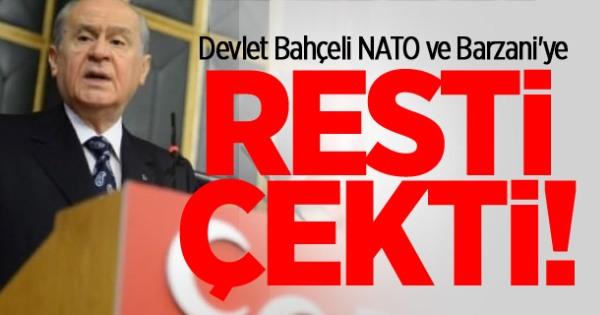 Bahçeli Resti Çekti: Ne NATO Kaldı Ne de Barzani