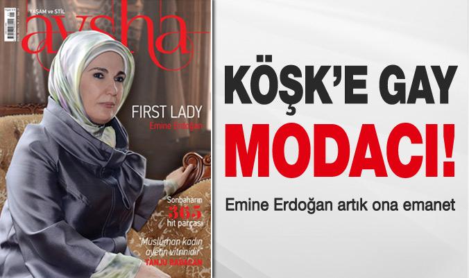 Emine Erdoğan Aysha dergisine kapak oldu...