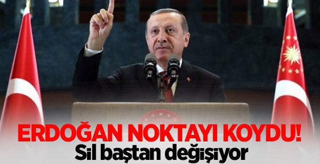 """Cumhurbaşkanı Erdoğan, """"ilk adım 657'de değişiklik"""""""