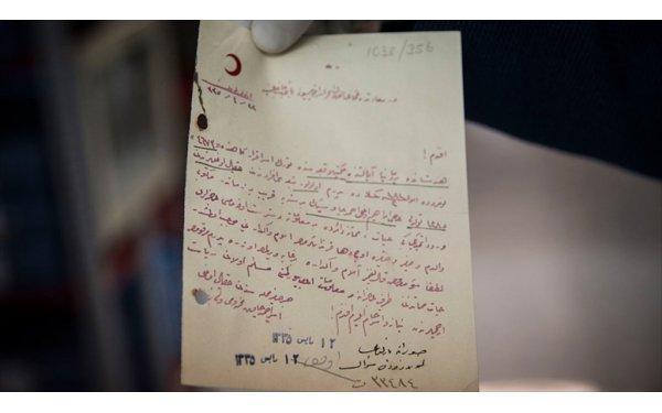 Esir Osmanlı Askerlerinin Mektupları Torunlarına Ulaştırılacak