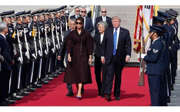 ABD Başkanı Trump Güney Kore'yi Ziyaret Ediyor