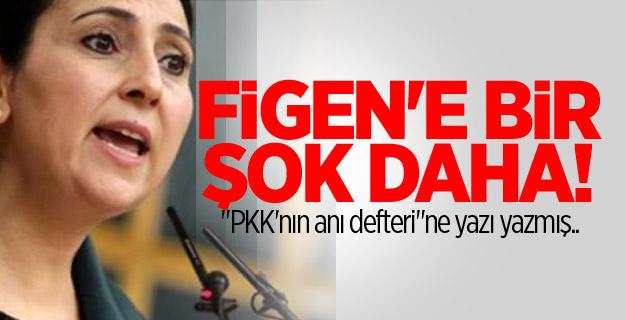 """Yüksekdağ, """"PKK'nın anı defteri""""ne yazı yazmış"""