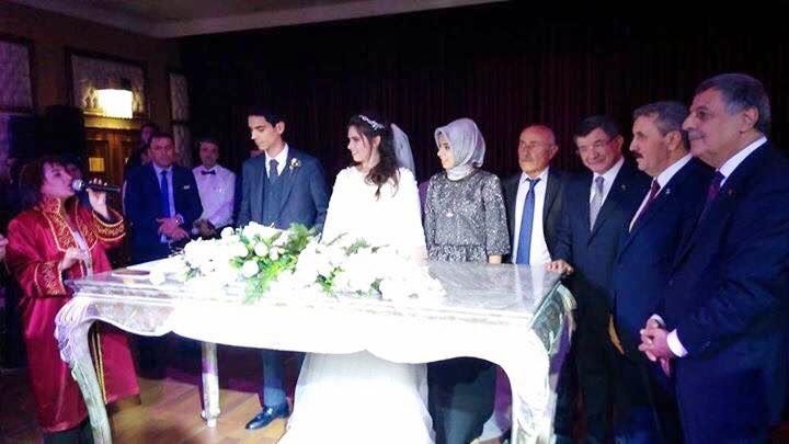 Muhsin Yazıcıoğlu'nun oğlu dünyaevine girdi