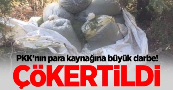 PKK'nın Finans Kaynağı Çökertildi