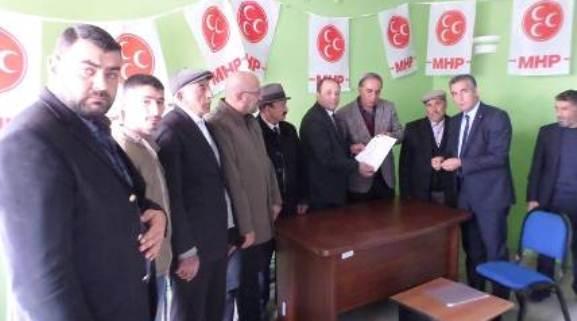 MHP Erzurum Karayazı Teşkilatı açıldı…