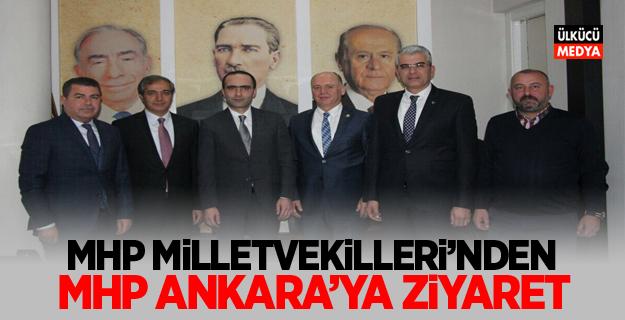MHP Milletvekilleri'nden MHP Ankara'ya Ziyaret