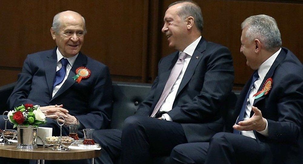 Devlet Bahçeli'nin çıkışına AKP'den ilk yorum