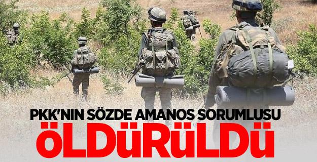 PKK'nın sözde Amanos sorumlusu öldürüldü