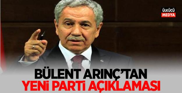 Bülent Arınç'tan yeni parti açıklaması