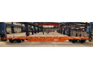 Tüdemsaş'ın Konteyner Taşıma Vagonuna Tsı Belgesi