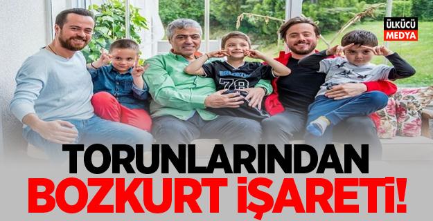 Cengiz Kurtoğlu'nun Torunlarından Bozkurt İşareti