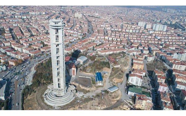 Keçiörenliler 'Cumhuriyet Kulesi'nin Yıkılması Dedi