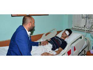 Bursaspor'dan Yaralı Eskişehir Taraftarına Ziyaret