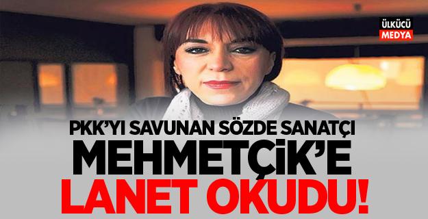 Mehmetçik'e lanet okudu!