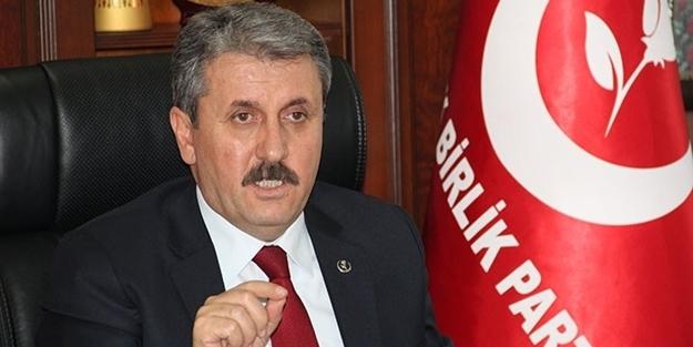 BBP Lideri Destici'den 'ittifak' açıklaması
